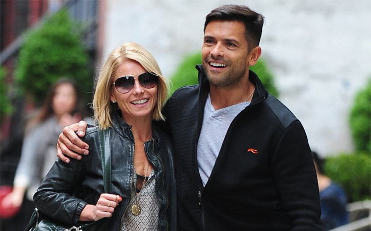 Kelly Ripa Wishes Happy Birthday to her Husband Mark Consuelos With Sweet Throwback Photos