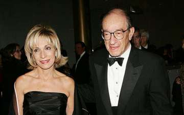 NBC News correspondent Andrea Mitchell Married Alan Greenspan in 1997 and living happily together