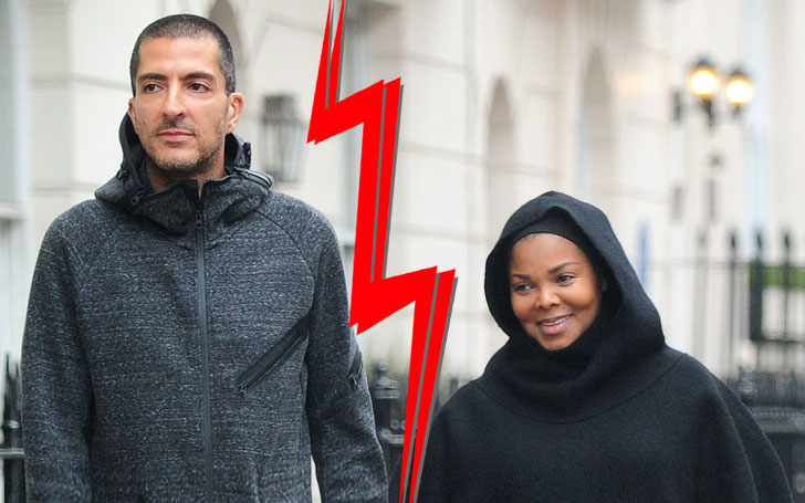 Janet Jackson is happy with her baby after Spliting with her husband