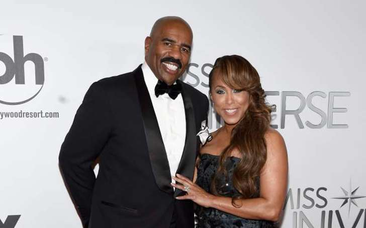 Marjorie Bridges-Woods Married To Husband Steve Harvey In 2007, Parents Of Seven Children