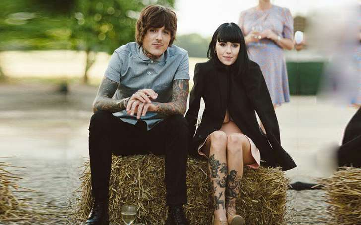 Oliver Sykes Married Hannah Pixie Snowdon in 2015,Know about Their Relationship and Married Life