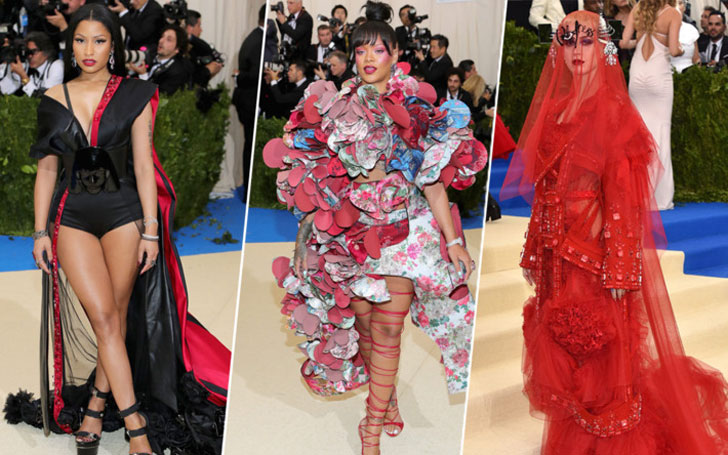 Top 5 Best Dressed in Met Gala 2017 Red Carpet Fashion