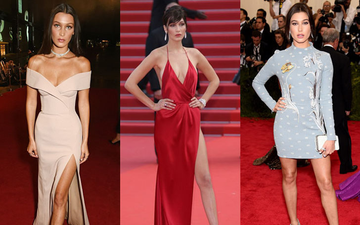 See the 10 best Bella Hadid's Looks and Dresses on Red Carpet