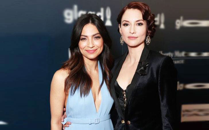 Supergirl Lesbian Relationship Between Chyler Leigh and Floriana Lima