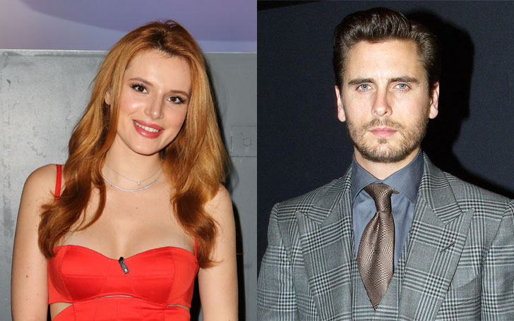 Bella Thorne Caught Dating With Scott Disick,Know about Their Affairs and Dating Rumors