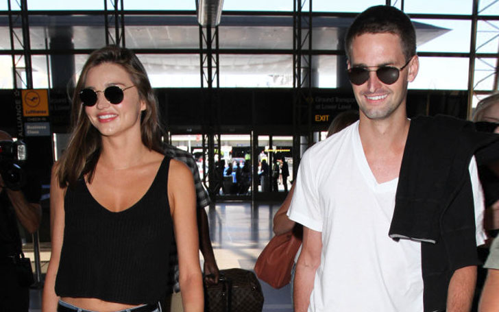 Evan Spiegel and his Girlfriend Miranda Kerr get Married,Know about their Love Affairs
