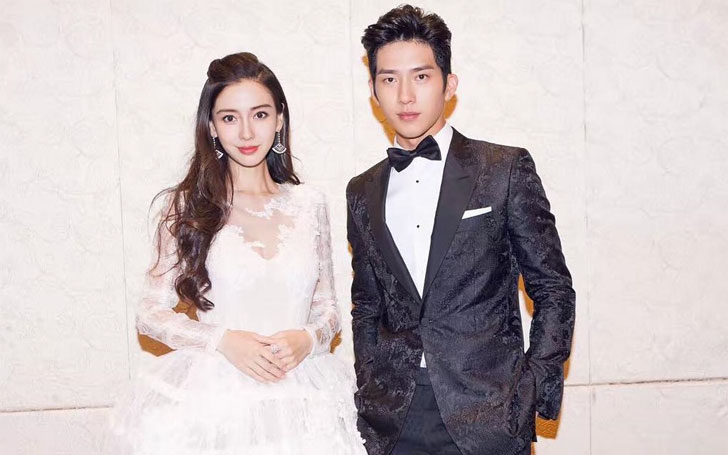 28 years Model Angelababy Married Huang Xiaoming and ... | 728 x 455 jpeg 58kB
