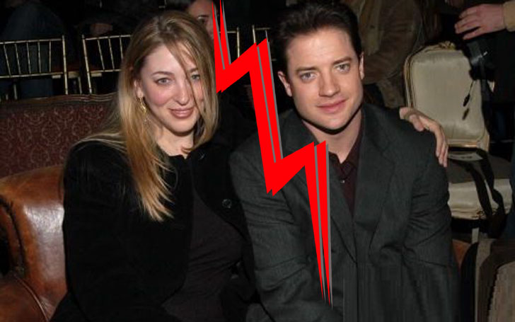 Afton Smith and her former husband Brendan Fraser