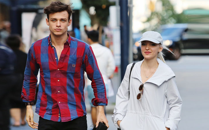 Dove Cameron is in Love with her Boyfriend Thomas Doherty: Know about their Relationship