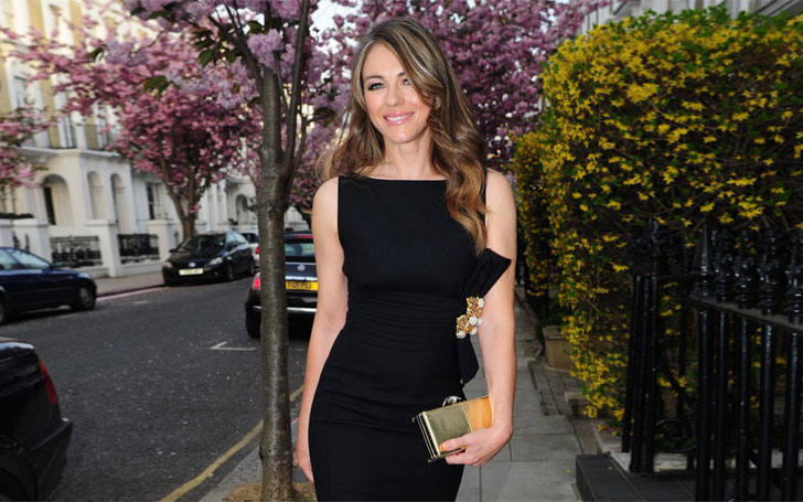 Elizabeth Hurley Looks Stunning At Elton John AIDS Foundation Benefit, Who Is She Dating Now?