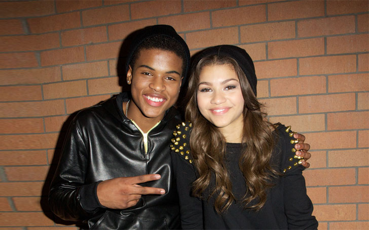 Who does zendaya date in Perth