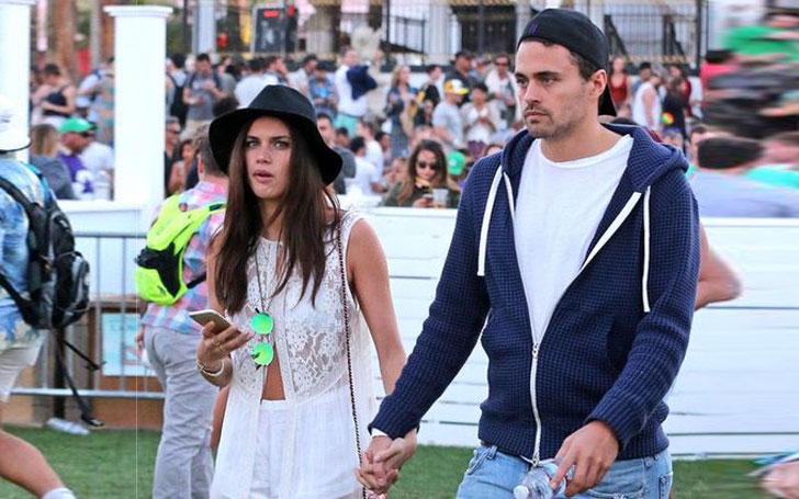 Sara Sampaio and boyfriend Olivier Ripley sparking romance; Kisses for the camera; Their Relation