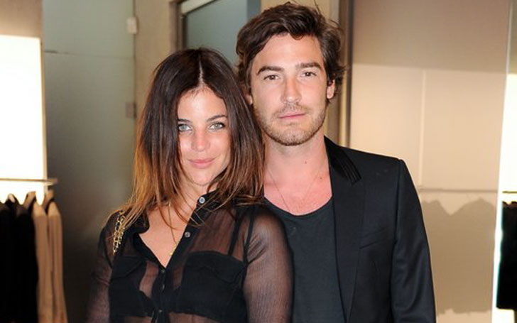 Julia and Vladimir Restoin Roitfeld for Mango