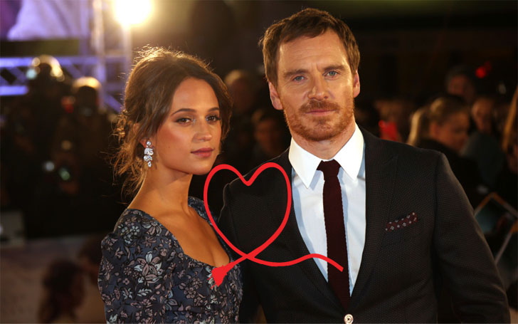 Michael Fassbender and Alicia Vikander  Dating Gossip