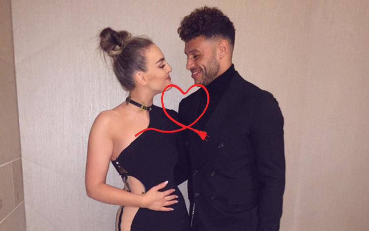 Perrie Edwards and Alex Oxlade-Chamberlain confirms they are now a Girlfriend Boyfriend couple