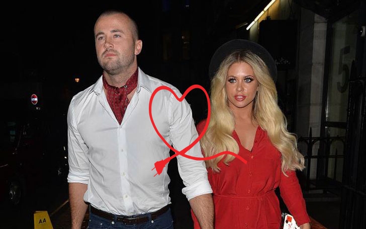 Bianca Gascoigne Flaunts her Cleavage, Once again in a relationship with former boyfriend CJ Meek