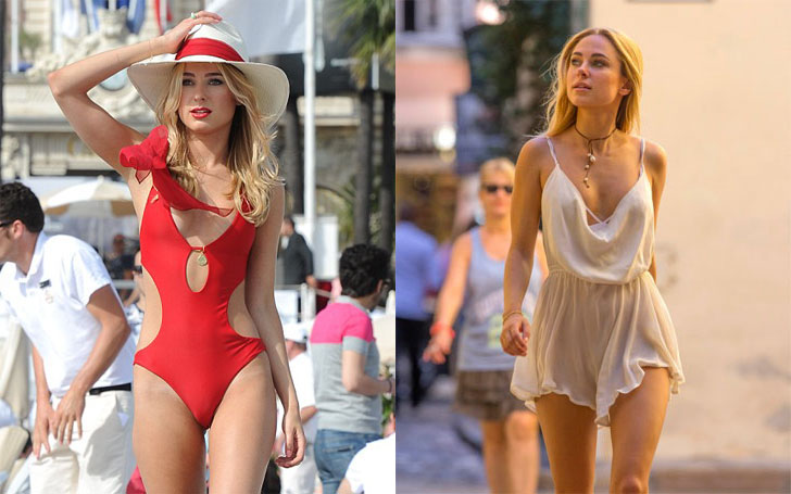 Kimberley Garner Flashes Her Pert Posterior, Who is she dating Currently? Know about her Affairs