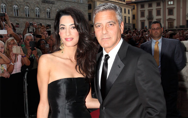 Amal Clooney and George Clooney steps out for Dinner after birth of Twins; Their Married Life