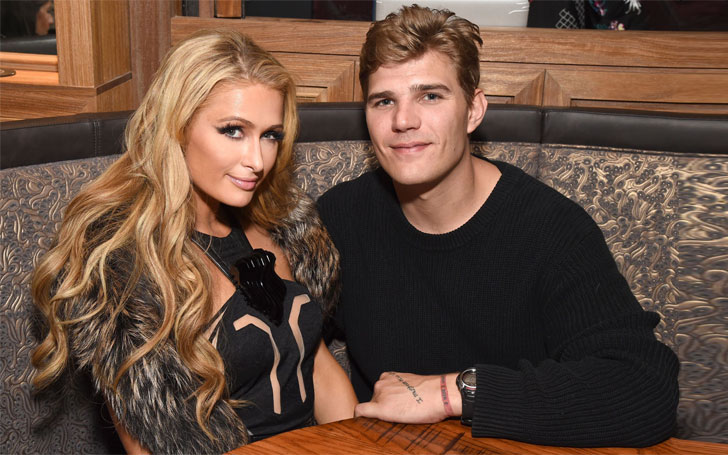 Paris Hilton's Boyfriend Chris Zylka Gets Huge Tattoo of Her Name, Know their Relationship