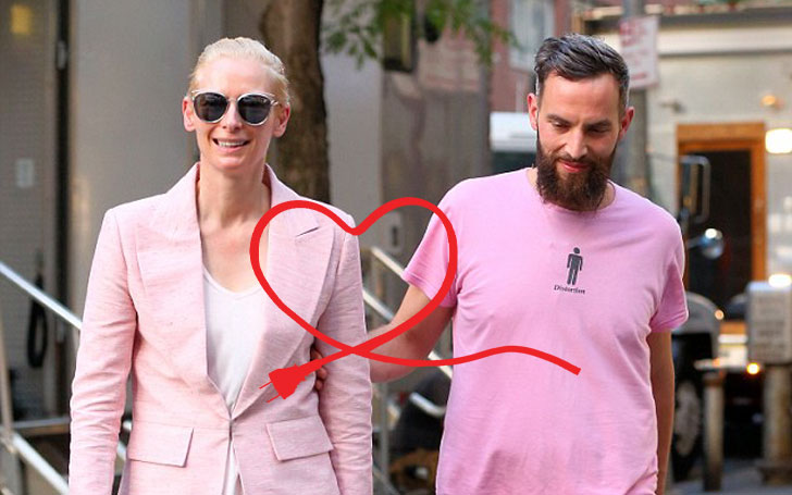 Tilda Swinton is in Relationship with Sandro Kopp,Know about their Affairs and Children