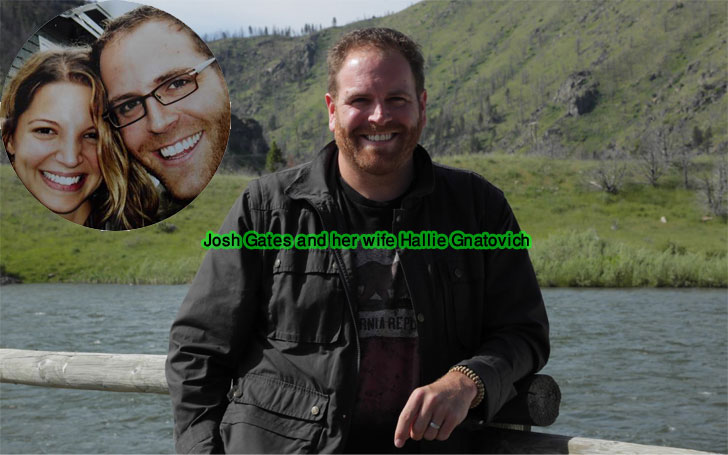 Hallie Gnatovich Husband Josh Gates Details About Their Married Life And Children