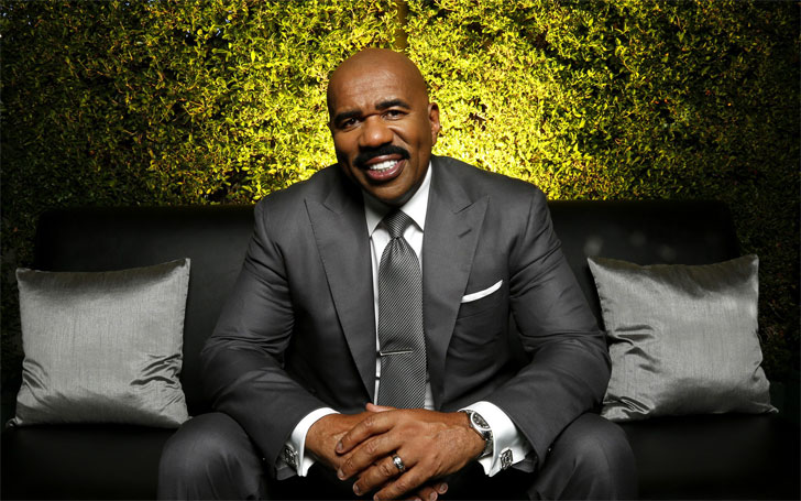 Steve Harvey a Father of seven Children from three Wives; His Relationship and Love Stories