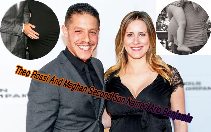 Sons of Anarchy and Luke Cage star Theo Rossi and his wife Meghan welcomed their second child