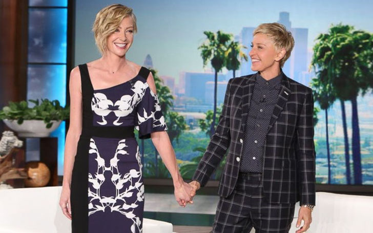 Ellen DeGeneres shares message on 9 Years Wedding Anniversary with her Husband Portia de Rossi