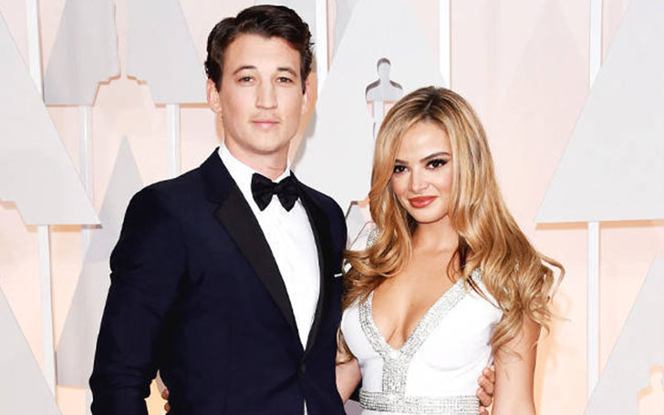 24 Keleigh Sperry announced her Engagement with Miles Teller, Know about their Dating