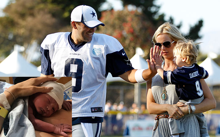 Former Dallas Cowboy Player Tony Romo Welcomed Third Child With His Wife Candice Crawford