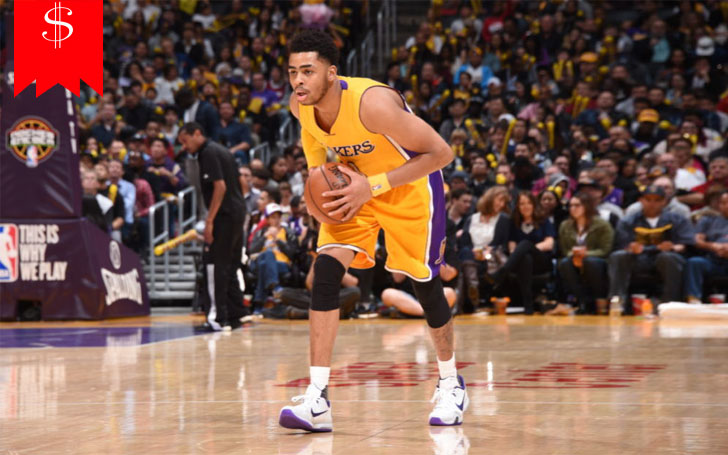 How Much Is D'Angelo Russell's Net worth? Know About His Salary, Career And Awards
