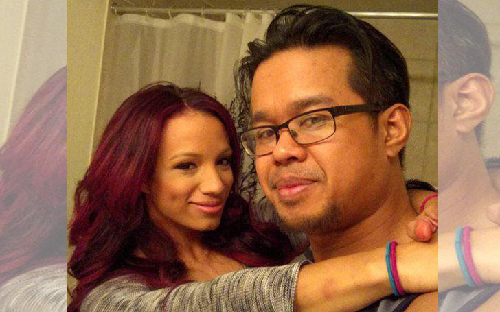 Sasha Banks Wedding.Wwe Star Sasha Banks Happily Married Sarath Ton Know Her Affairs