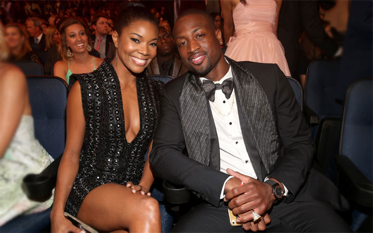 Dwyane Wade is Living Happily With his Wife Gabrielle Union After Divorcing Siohvaughn Funches