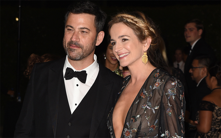 Jimmy Kimmel Is Living Happily With His Wife Molly McNearney And Children,Their Love Life In Detail