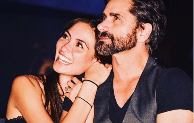 John Stamos' Fairytale Engagement with Caitlin McHugh in Disneyland