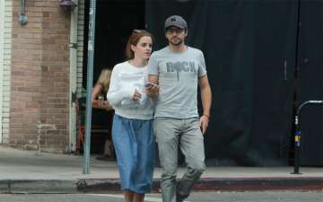 Emma Watson and Her New Guy Get Cozy on a Lunch Date