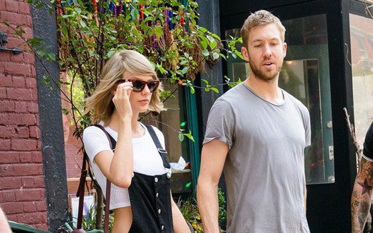 Engaged Taylor Swift and Boyfriend Calvin Harris