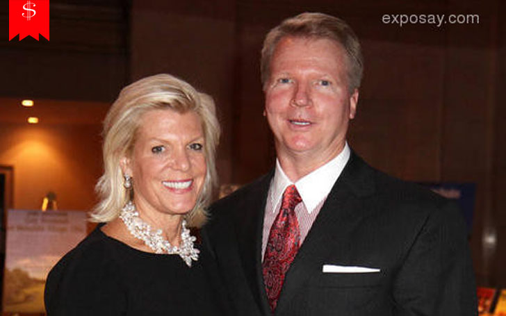 Phil Simms with charming, Wife Diana Simms