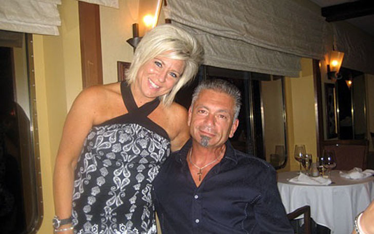 theresa caputo is living happily with her husband larry
