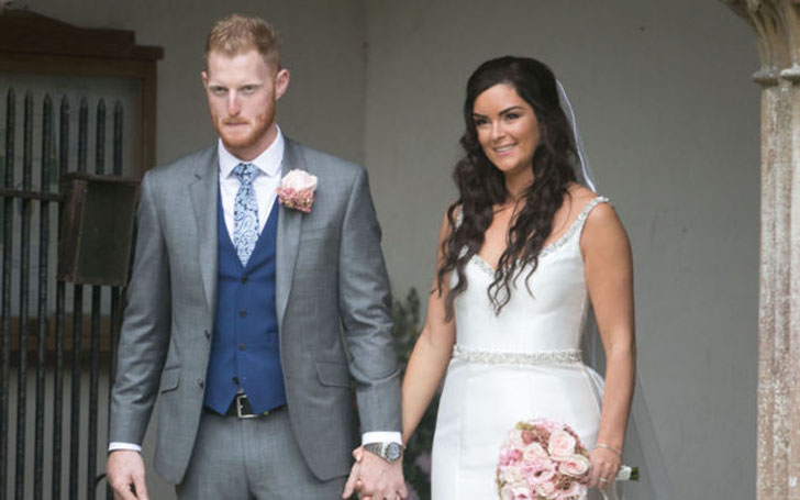 Ben Stokes Happy with Newly Married Wife Clare Ratcliffe and Lovely Children