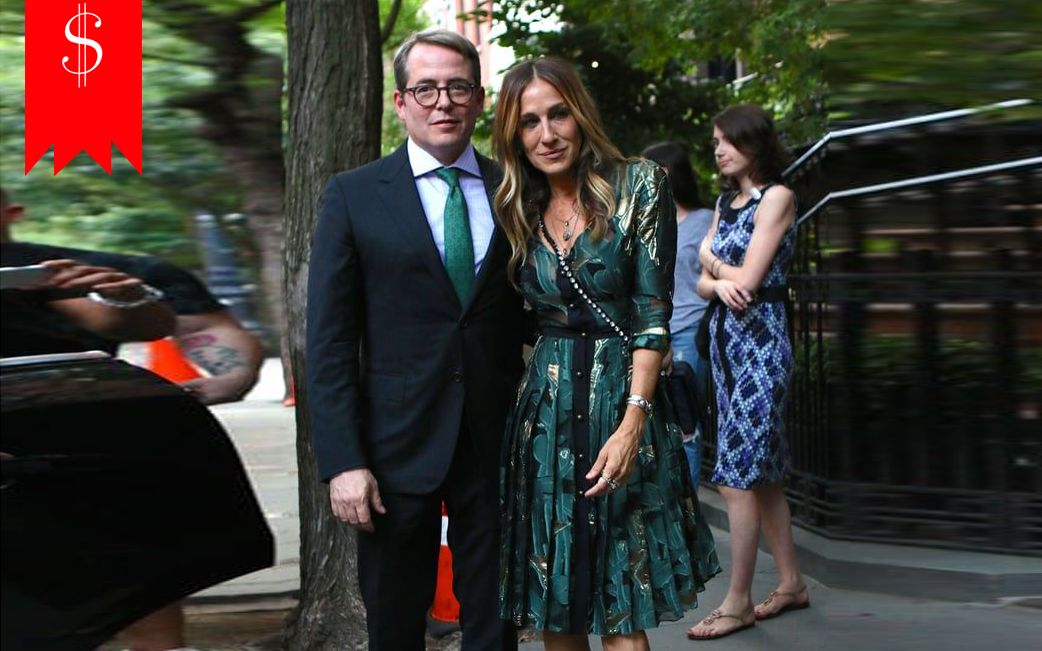 Matthew Broderick' Wife Sarah Jessica Parker's Net Worth: Detail About Her Salary,Career and Awards