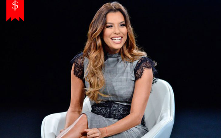 Eva Longoria wiki, net worth, smokey eye and nude lip