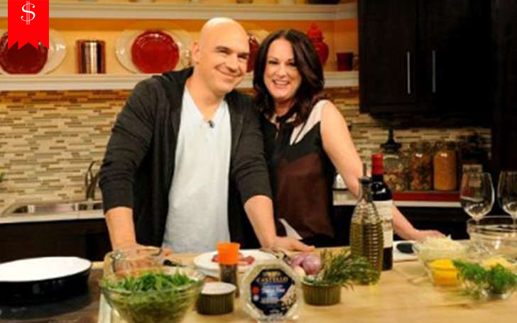 Michael Symon's wife Liz Shanahan's Net Worth in 2018? Also Know Their Awards and Achievements