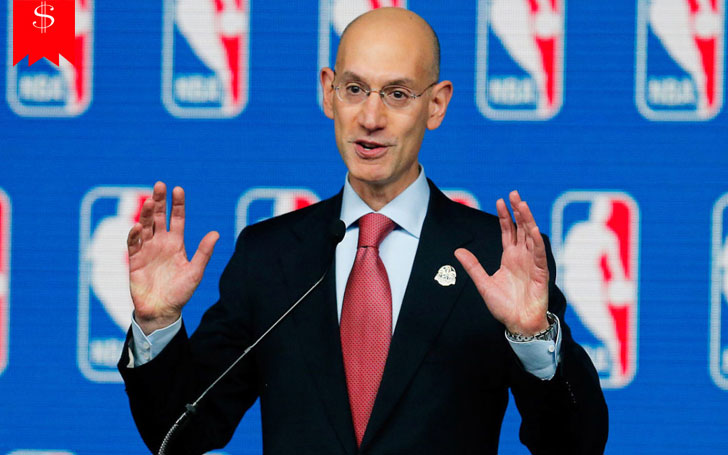 Commissioner of the NBA Adam Silver: What's his Salary? Know About his Net Worth and Career