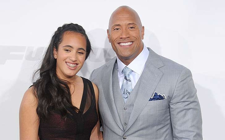 Dwayne Johnson's Has A Beautiful, Daughter Simone Johnson, Who Is She Currently Dating?