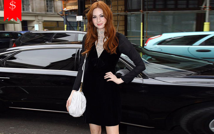 Karen Gillan Arrives In Black Dress In BAFTA Award In 2018, Also Know Her Net Worth and Career
