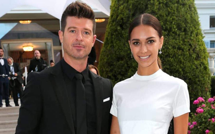 Robin Thicke's Relationship With Girlfriend April Love Geary, Welcomes A Child Together