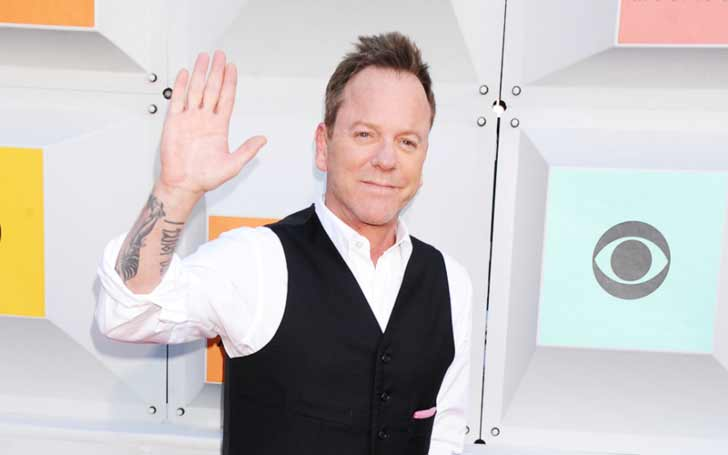 British Actor Kiefer Sutherland Has Long List of Girlfriends: Also Know His Unsuccessful Marriages