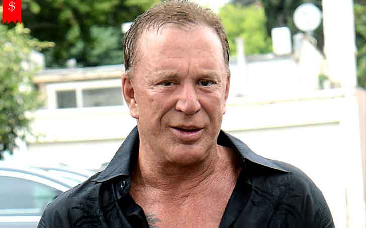 Hollywood Actor/Screenwriter Mickey Rourke's Income From his Profession & Net Worth He has Achieved