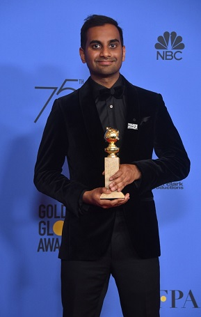 35 Years American Actor Aziz Ansari's Net Worth and Career Achievement in the Film Industry